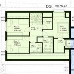 Haus 1 Tösstal Dachgeschoss Plan